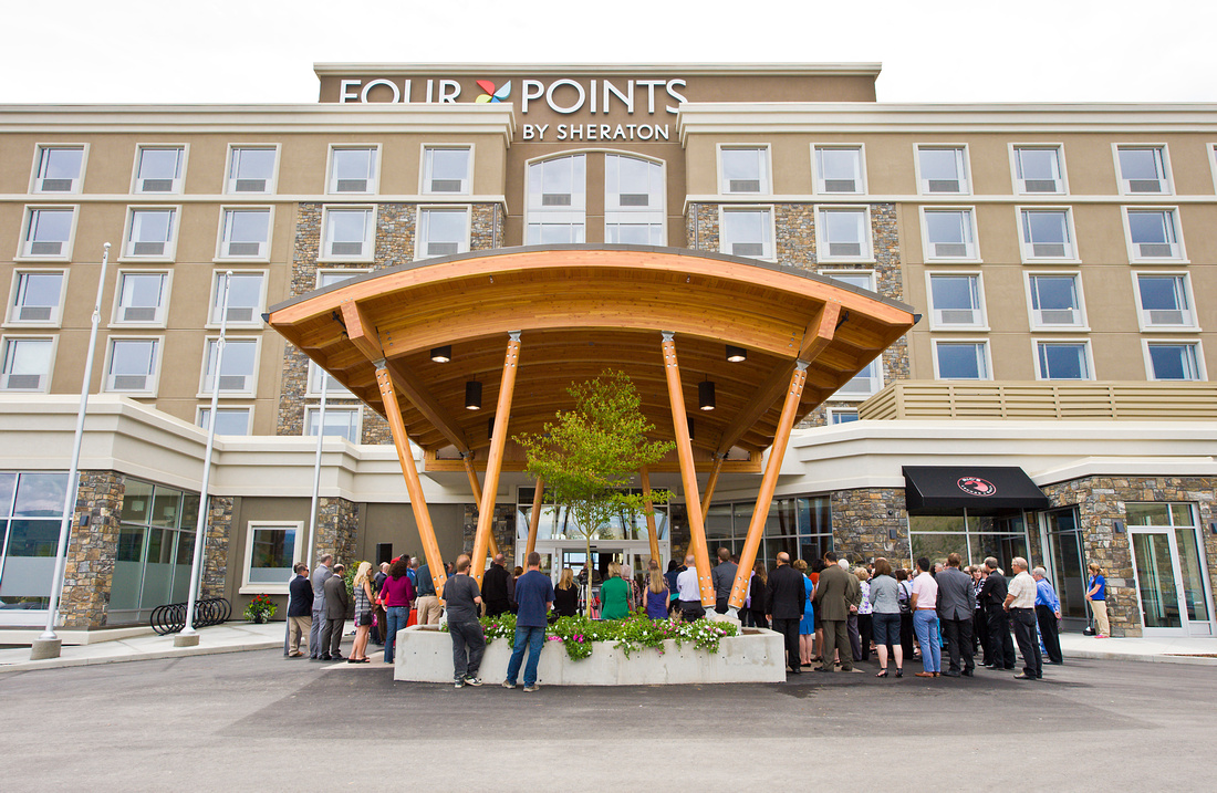 The grand opening of Four Points by Sheraton Airport opening by the Kelowna Airport